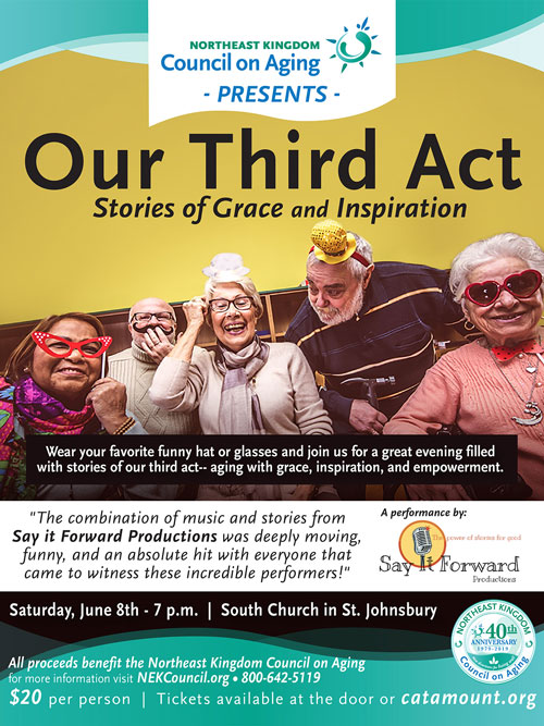 Our Third Act - Stories of Grace and Inspiration