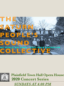 Brian Boyes presents THE SATURN PEOPLE SOUND COLLECTIVE!