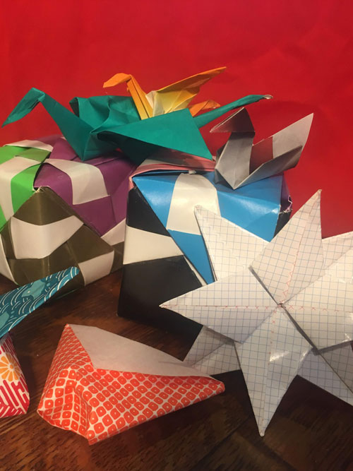 Japanese Origami (ages 8-13)
