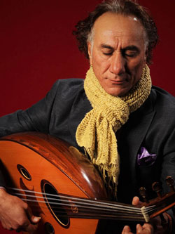 "With Grammy-nominated Oud master Rahim AlHaj and The Portland String Quintet Friday, September 25, 8:00 pmLocation: Colonial Theatre2050 Main StBethlehem, NHTicket: $39 Reserved, $33 General admission, $28 Members general admission.Letters from Iraq expresses the love and pain of lives lived by the people of war-torn Iraq. Actual mailed letters and their stories are transposed into eight gripping programmatic compositions by NEA National Heritage Fellow Honoree and two-time Grammy-nominated Iraqi-American composer and oud player, Rahim AlHaj with string quintet (2 violins, viola, cello, contrabass) and percussion. He says, ""Music can make us laugh, make us cry, make us march into war. I want to make music to make us realize peace."" This is music is of deep emotion and great beauty, melding mastery of Iraqi and Western classical genres alike to form something entirely new.Virtuoso oud player and composer, Rahim AlHaj born in Baghdad, Iraq, has found in his ancient instrument, whose written history spans some 5,000 years, a unique voice that speaks passionately to contemporary listeners of every musical background. Deftly combining traditional Iraqi maqams with contemporary stylings and influences, AlHaj seeks to translate into music the suffering, joy, anxiety, and determination that he has experienced and witnessed in his lifelong struggle against injustice — as an Iraqi, a political refugee, and today as an American citizen. Communicating with a compelling immediacy that bypasses cultural obstacles, his music speaks irresistibly to the heart in a universal language of compassion.The Portland String Quintet has had an enormous impact locally, regionally and internationally since its inception in 1969. Beginning as The Portland Symphony String Quartet, the members became not only principal players in the Portland Symphony Orchestra, they established teaching studios, school music positions and chamber music concerts serving the greater Portland area and the State of Maine. They have received rave reviews from The New York Times, The Boston Globe, the Washington Star and Washington Post, the Miami Herald, and the Portland Press Herald."