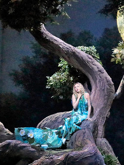 "Nightly Met Opera StreamsAvailable for 20 hours starting Friday, April 16, 7:30 pmLocation:Metropolitan Opera WebsiteTickets: FreeA cornerstone of Czech opera, Dvořák's dark and melodious take on the old Slavic yarn about a water nymph who falls in love with a human entered the repertoire in 1901. In recent decades, it has become a staple for lyric sopranos, who relish the title role's spellbinding Song to the Moon in the first act—although the greatest challenge might be the nymph's silent second act, after the love-struck Rusalka trades her voice to a scenery-chewing witch for the chance to become human.All ""Nightly Met Opera Streams"" will begin at 7:30pm EST and will remain available via the homepage of metopera.org for 20 hours. The homepage link will open the performance on the Met Opera on Demand streaming service. The performance will also be viewable on all Met Opera on Demand apps. Due to unprecedented demand and web traffic, we recommend you access the stream through the Met Opera on Demand apps for Apple, Amazon, and Roku devices and Samsung Smart TV."