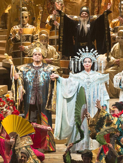 "Available for 20 hours starting Thursday, August 13, 7:30 pmLocation:Metropolitan Opera WebsiteTickets: FreeA legendary Chinese princess presents each new suitor with a series of riddles; success will win her hand, but failure costs his head. One brave warrior prince rises to the challenge, determined to thaw Turandot's frozen heart. Puccini raises the temperature to boiling by lavishing the legendary tale with some of his finest and most spectacular music—not to mention ""Nessun dorma,"" one of the catalogue's most beloved arias. Combined with Franco Zeffirelli's breathtakingly opulent production, it makes for one of opera's grandest experiences.All ""Nightly Met Opera Streams"" will begin at 7:30pm EDT and will remain available via the homepage of metopera.org for 20 hours. The homepage link will open the performance on the Met Opera on Demand streaming service. The performance will also be viewable on all Met Opera on Demand apps. Due to unprecedented demand and web traffic, we recommend you access the stream through the Met Opera on Demand apps for Apple, Amazon, and Roku devices and Samsung Smart TV."