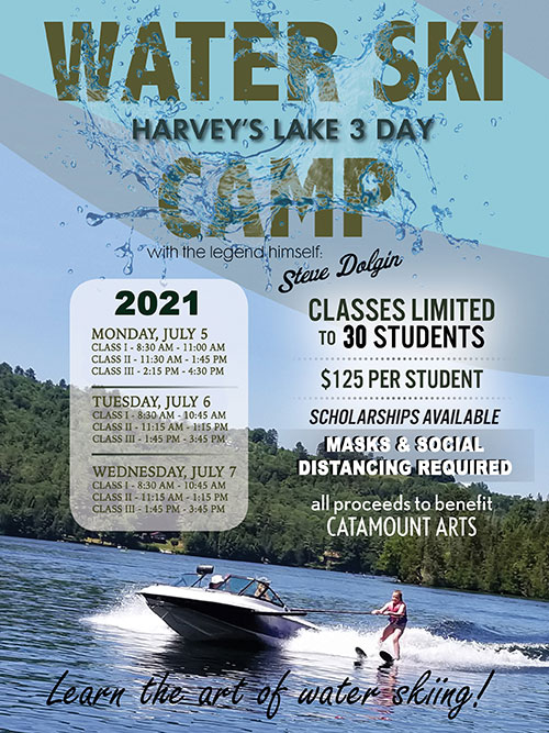 Harvey's Lake 3 Day Water Ski Camp