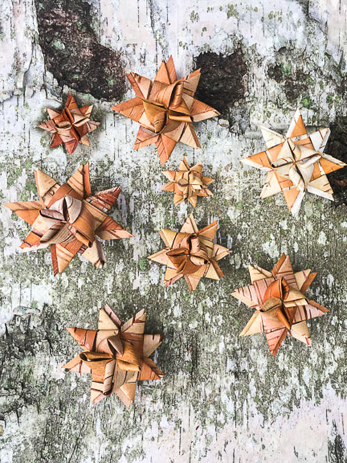 Birch Bark Ornaments (Adults and high school students)